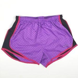 Nike Dri Fit Tempo Polka Dot Running Shorts
